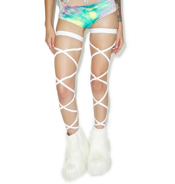 J Valentine Vivid Vixen Light-Up Leg Wraps