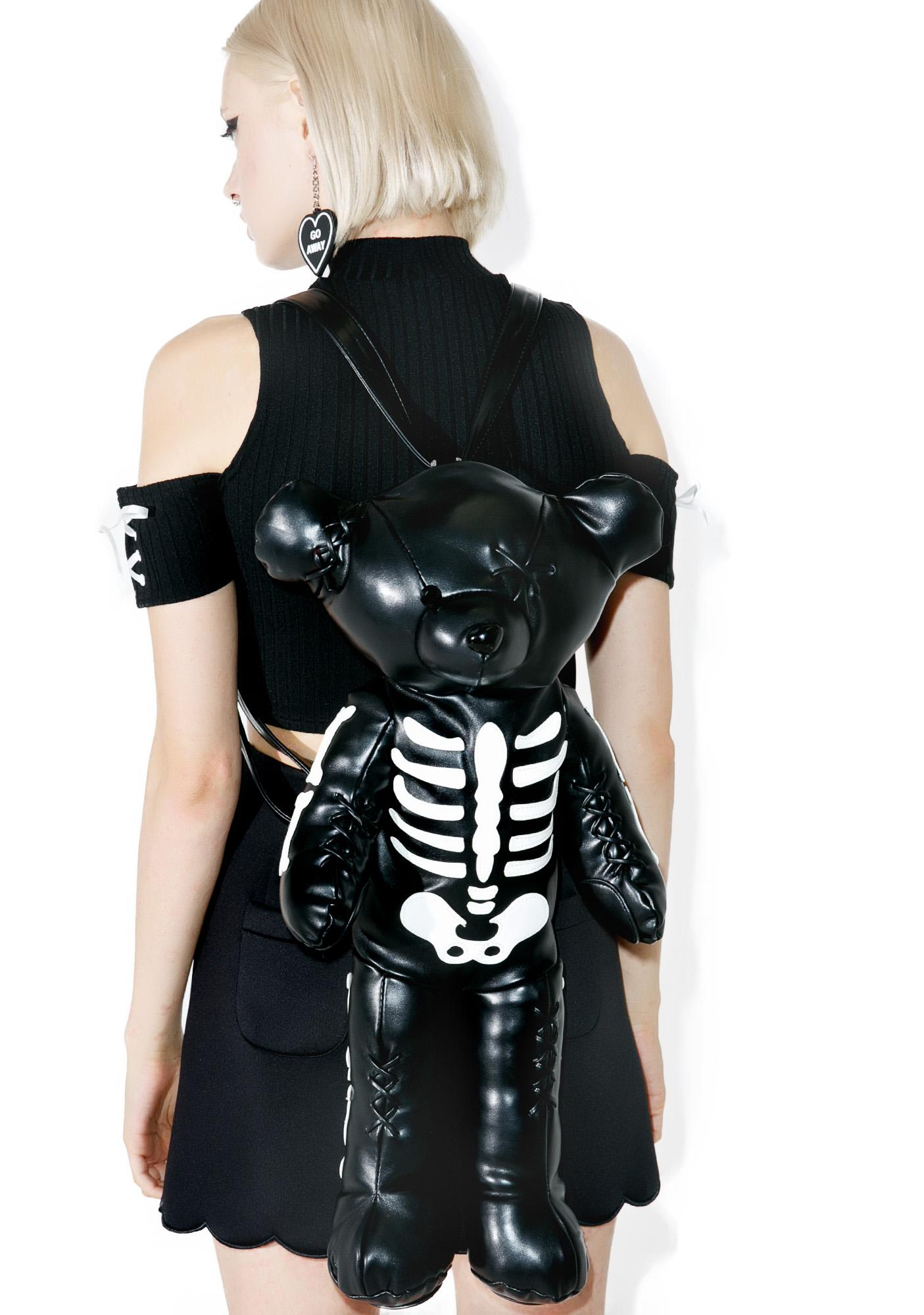 Current Mood Deady Teddy Backpack