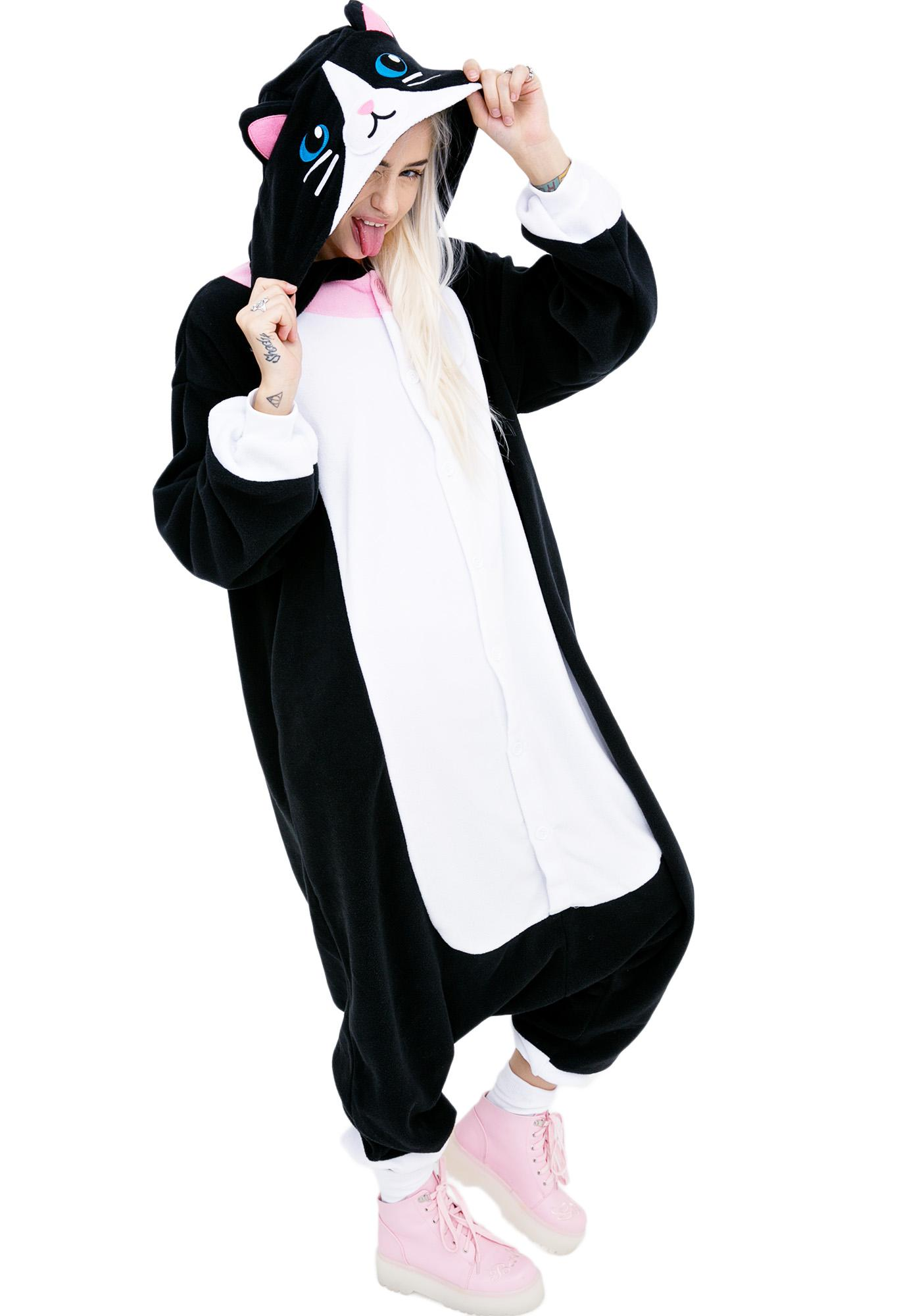 Sazac Black Cat Kigurumi