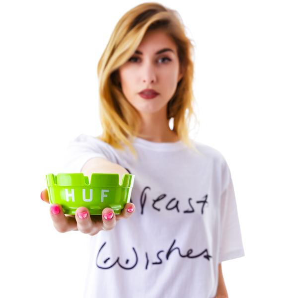 HUF Plastic Logo Ashtray