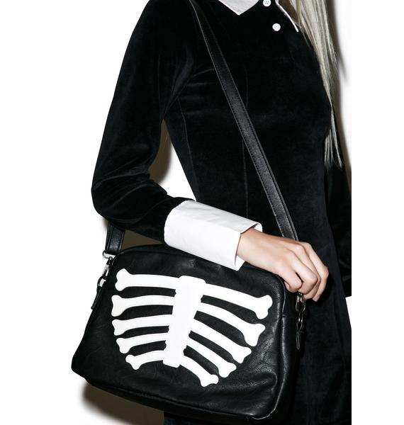 Iron Fist Wishbone Clutch Bag