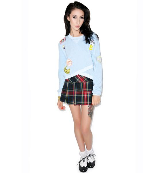 Hello Soon Patches Sweater