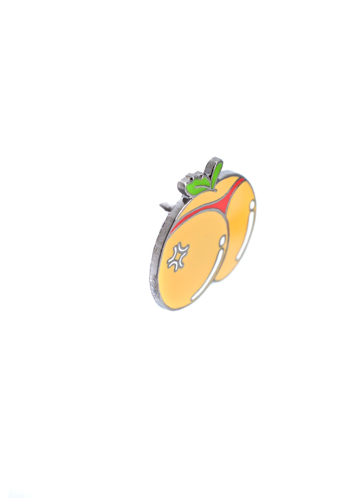 Juicy Booty Enamel Pin