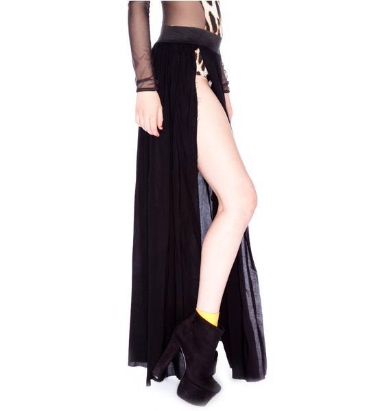 One Teaspoon Trinity Maxi Skirt