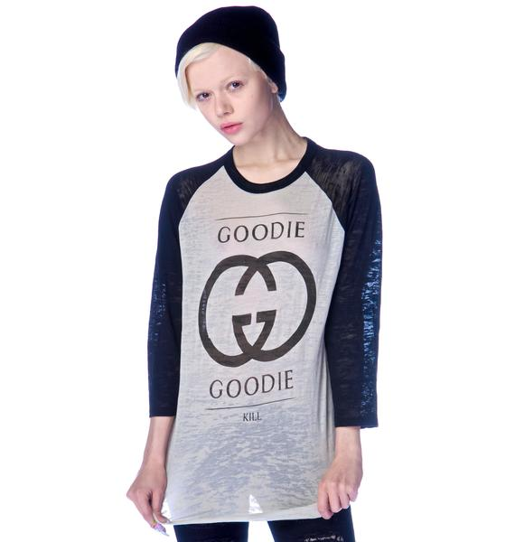 Kill Brand Goodie Goodie Baseball Tee
