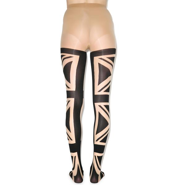 Pretty Polly Flag Tights