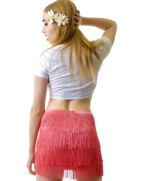 Fringe Benefits Skirt