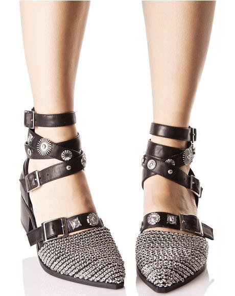 Uma Chained Boots