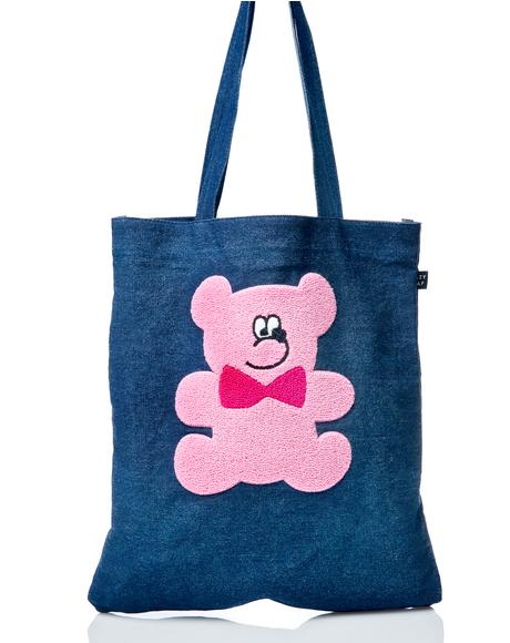 Fur Bear Tote Bag