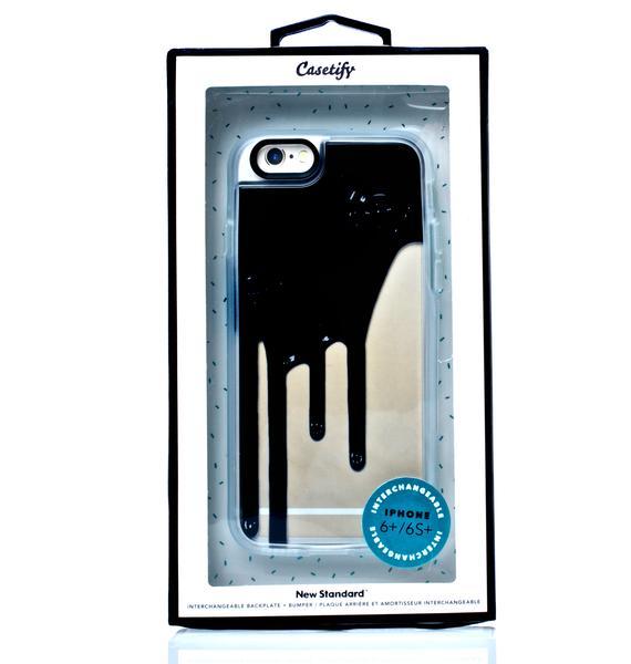 Casetify Blaq Drip iPhone 6 Case