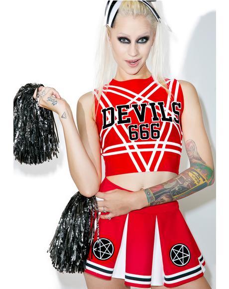 Satan's Cheerleader Set