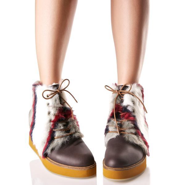 Australia Luxe Collective Bundaburg Striped Boots