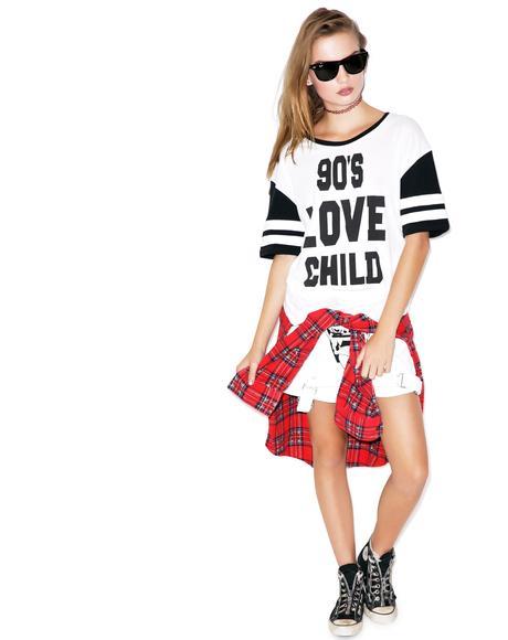 90s Love Child Tee
