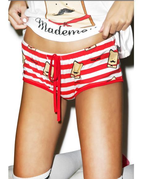 French Toastie Shorts