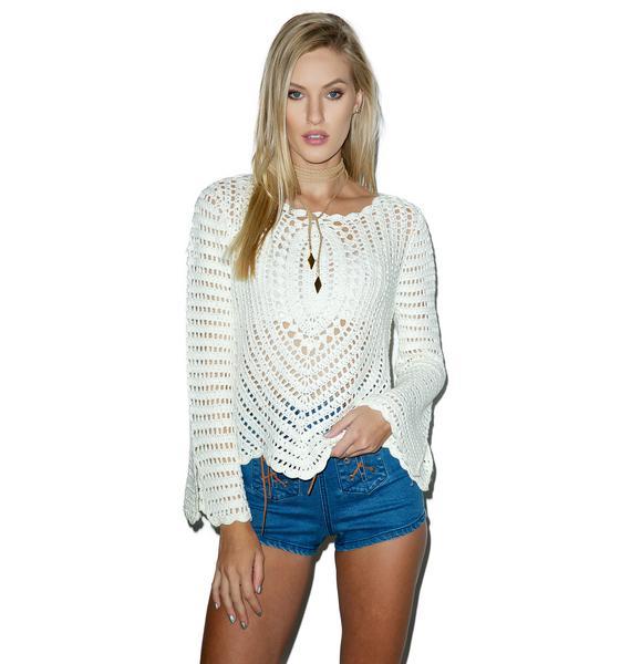 Kelsey Crochet Top