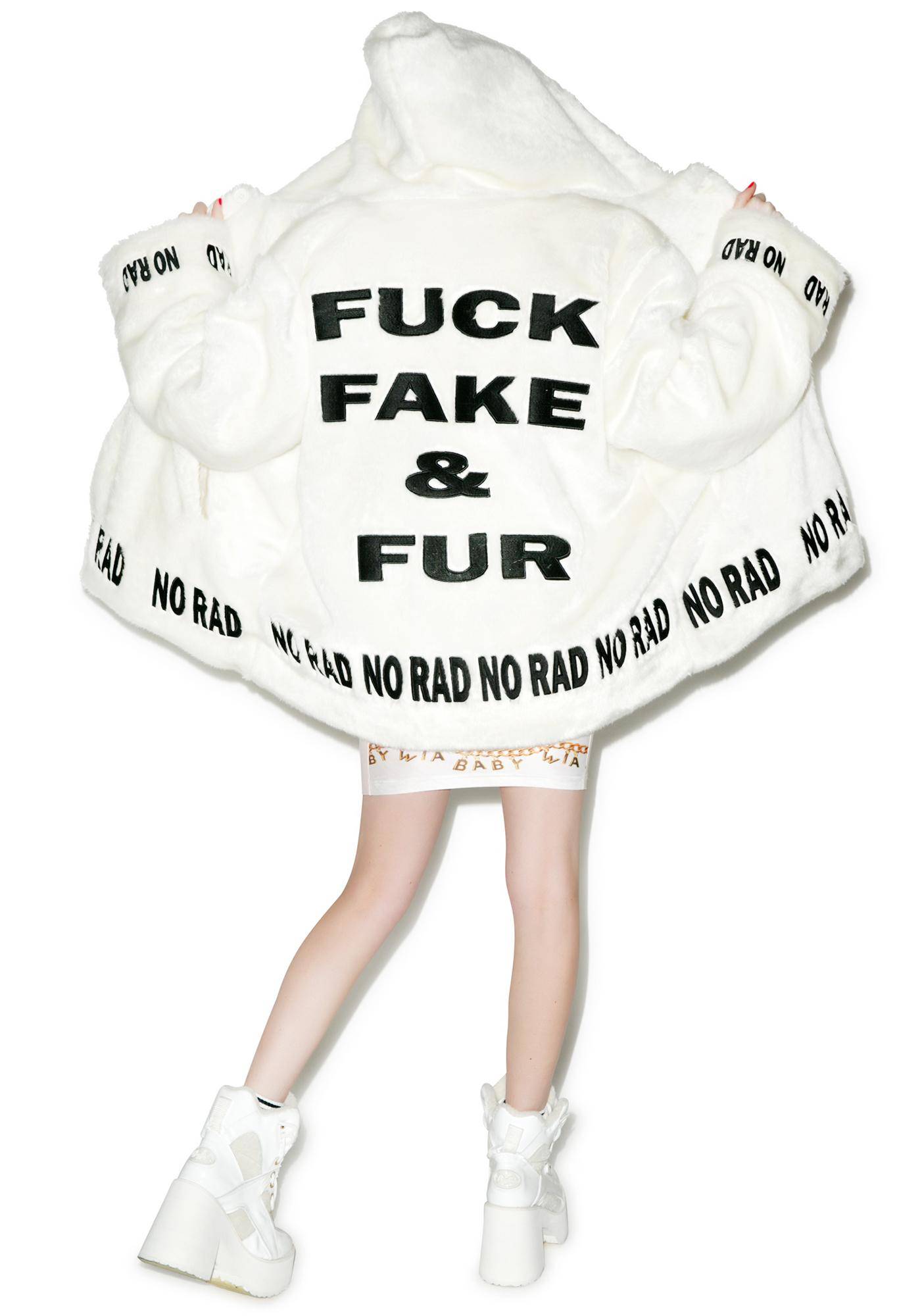 W.I.A Fake And Fur Coat