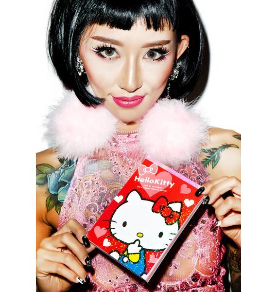Sanrio Red Ribbon Hello Kitty Memo Pad