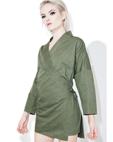 Makoto Wrap Jacket