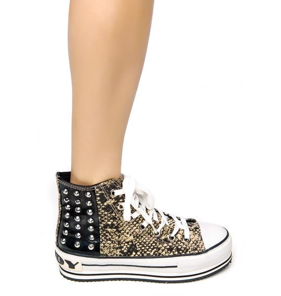 Smash Punk Platform Sneakers