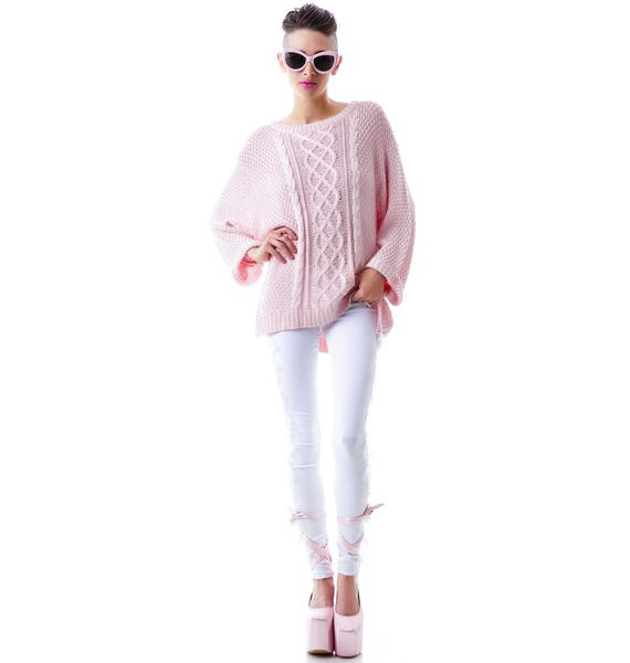 For Love & Lemons Wind Down Sweater