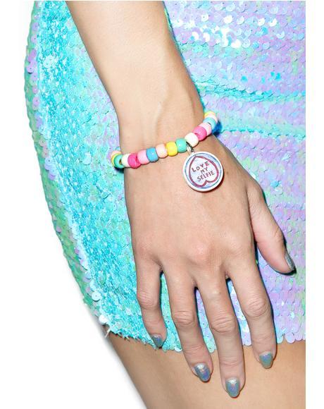 Love My Selfie Bracelet