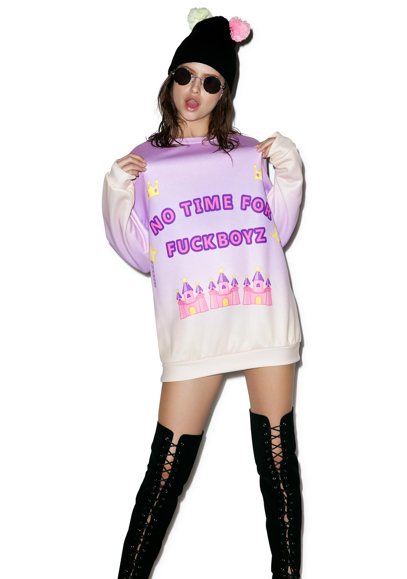 Sugarpills Cuties Only Kingdom Sweatshirt