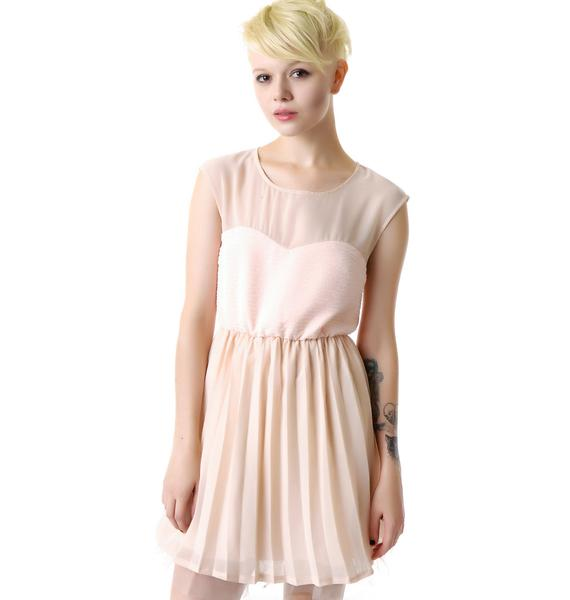 Princess Serena Pleated Dress