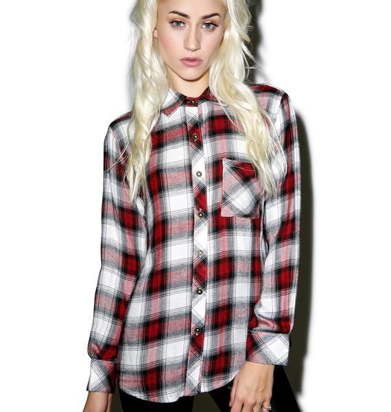 Tacoma Dogwood Flannel Shirt