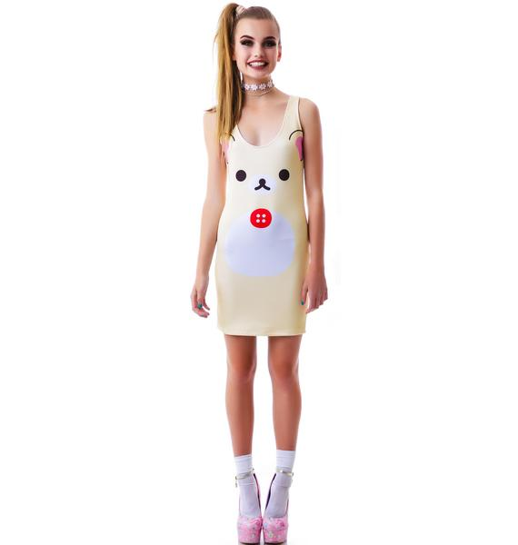 Japan L.A. Korilakkuma Bodycon Dress