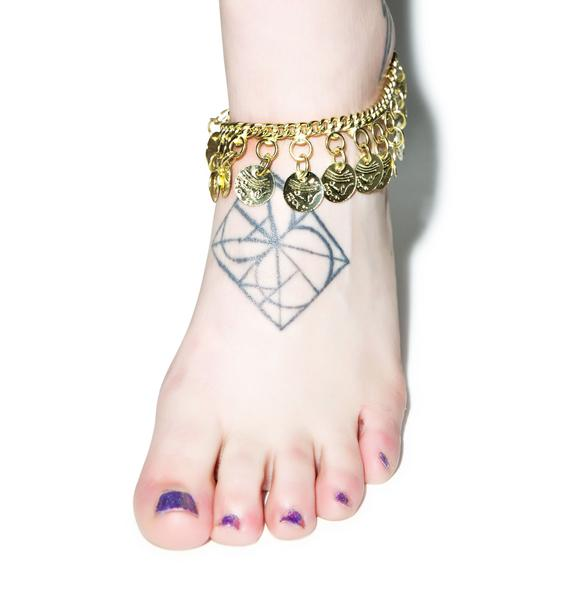 Gypsy Bae Coin Anklet