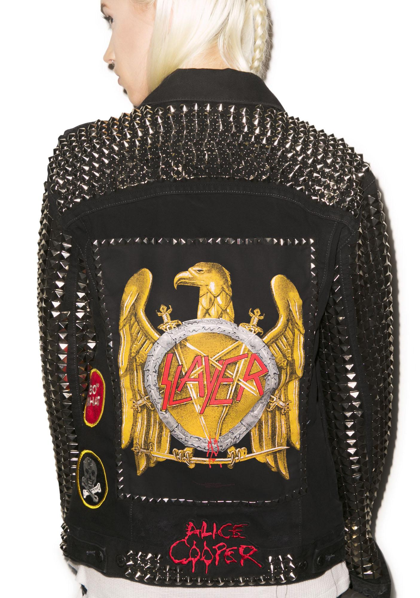 Hazmat Design Thrash Battle Jacket