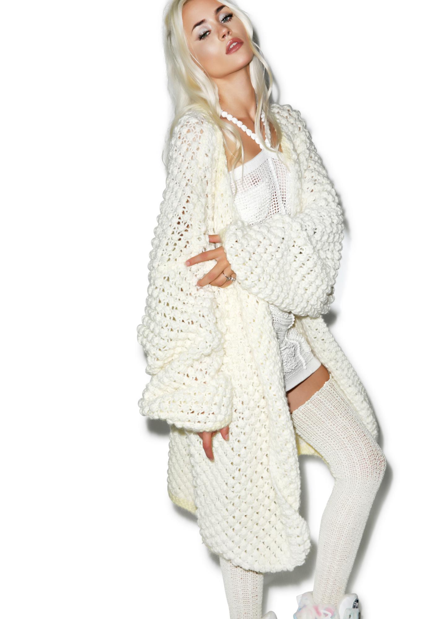 Maria ke Fisherman Grand Oversize Knit Cardigan
