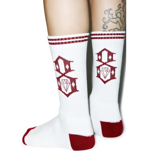 Rebel8 Classic Logo Socks