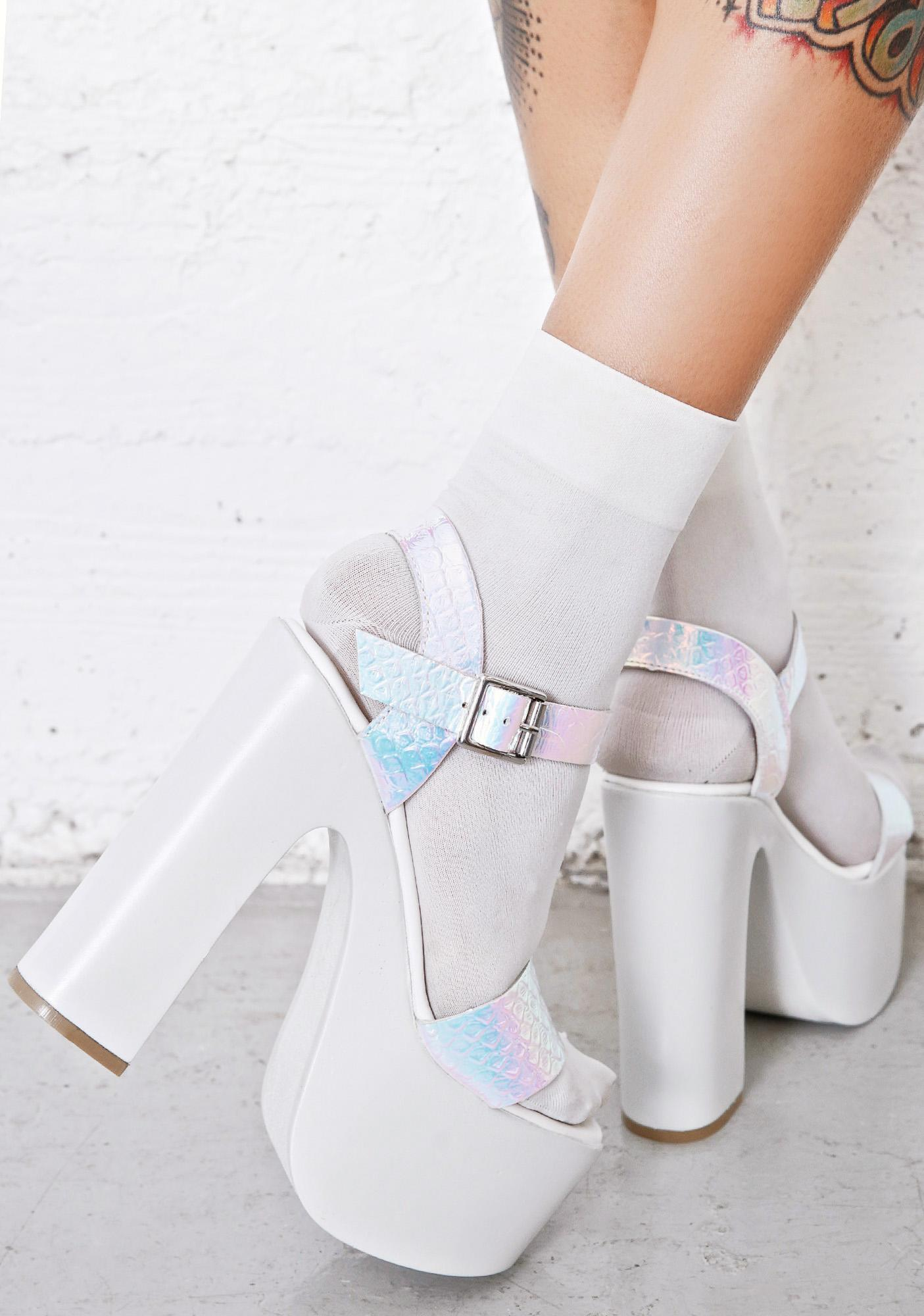 ROC Boots Haiku Holographic Platforms