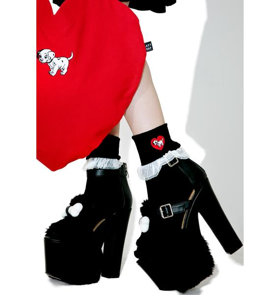 Lazy Oaf X Disney 101 Dalmatians Socks