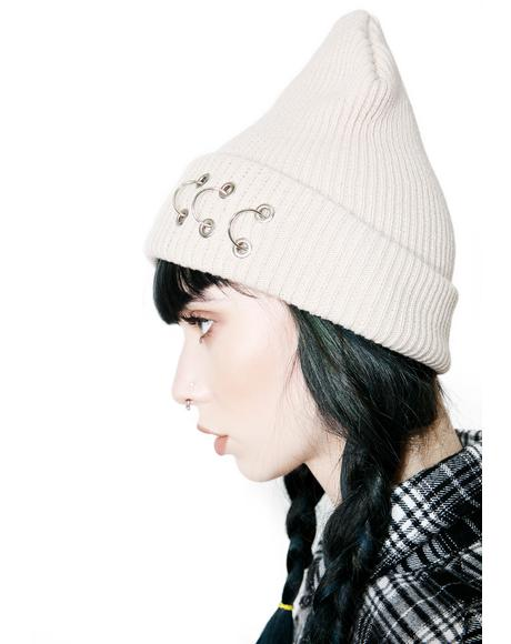 Pierce Ring Beanie