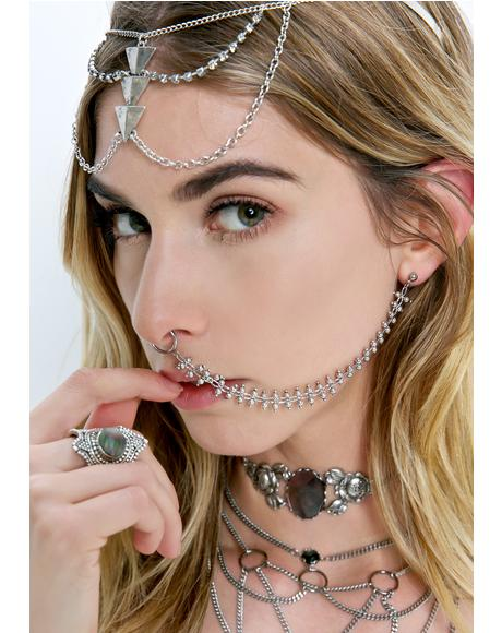 Sienna Chained Nose Clip