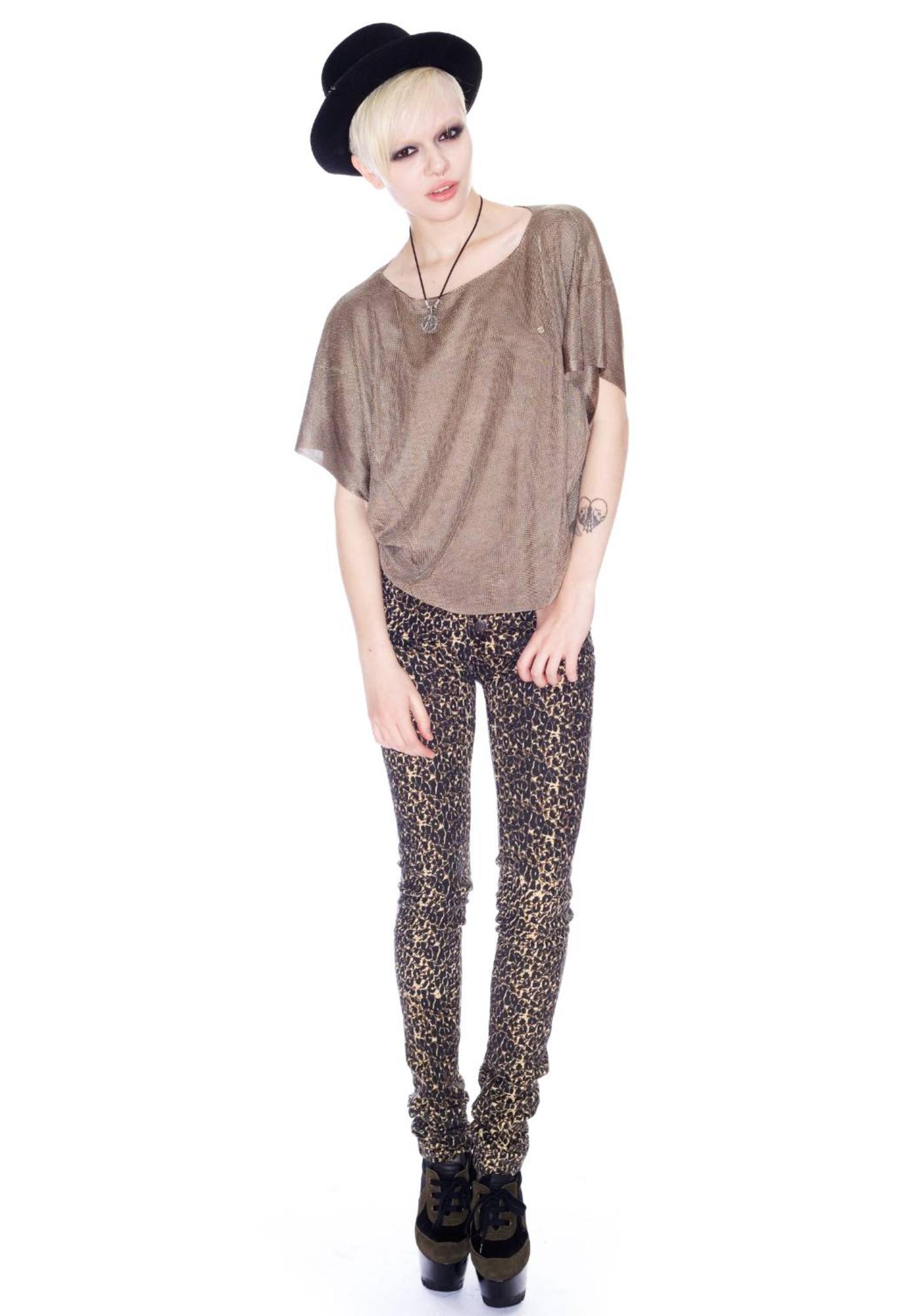 Insight Inisght Chainmail Tail Top
