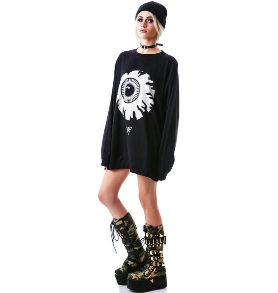 Long Clothing x Mishka Keep Watch Sweatshirt