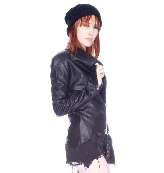 One Teaspoon Storm Rider Leather Jacket