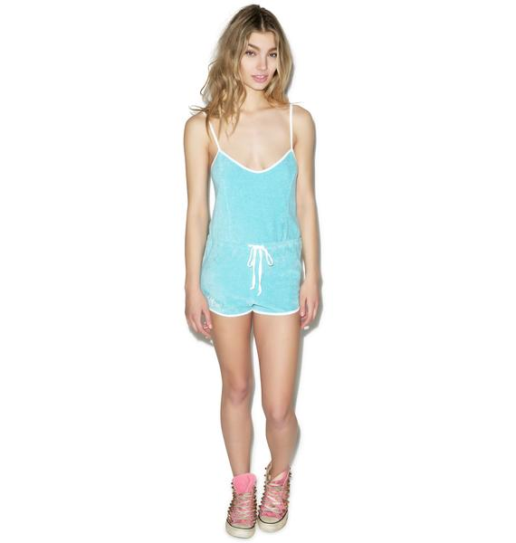 Wildfox Couture Fun Fox Terry Romper