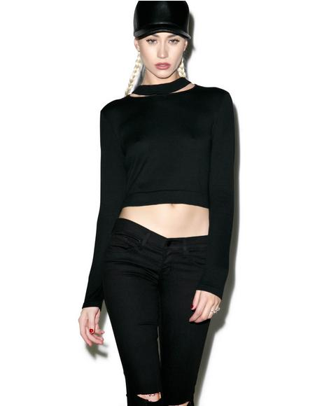 Kingdom Collar Crop Top