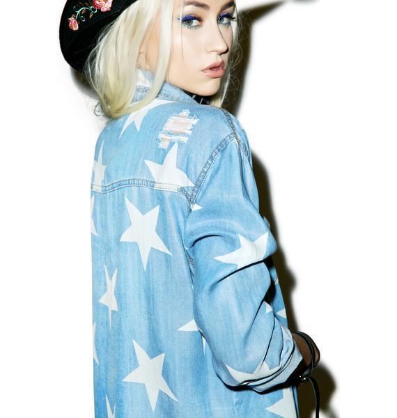 One Teaspoon Le Punk Tencel Liberty Shirt