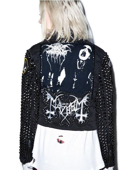 Kvlt Studded Jacket
