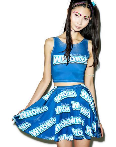 Whoreo Skater Skirt