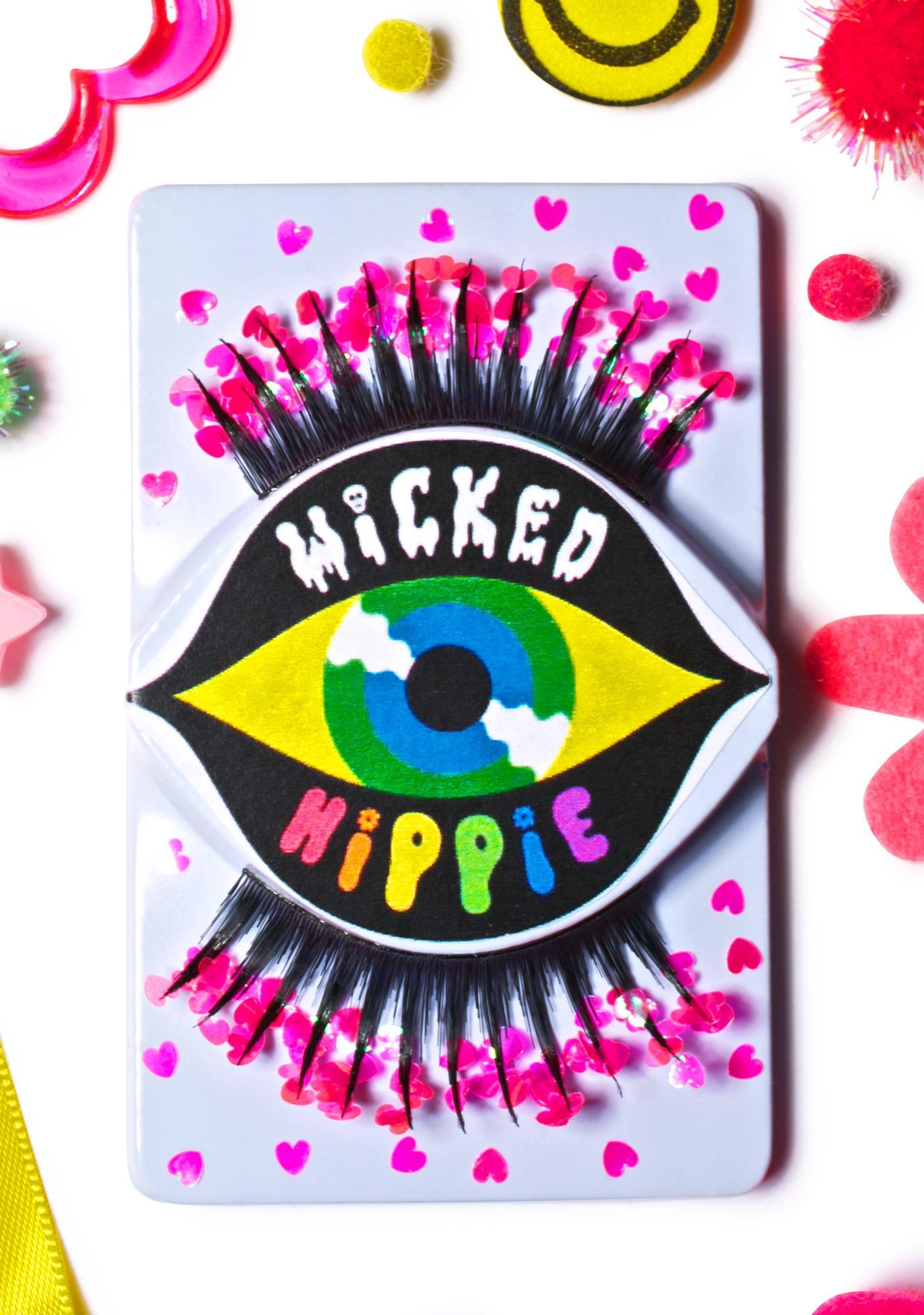 Wicked Hippie Eye Heart False Eyelashes