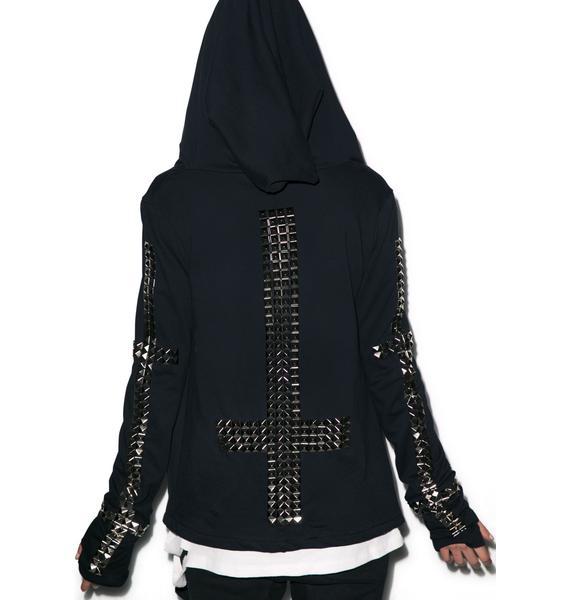 Hazmat Design Vintage Deadstock The Blind Dead Hoodie