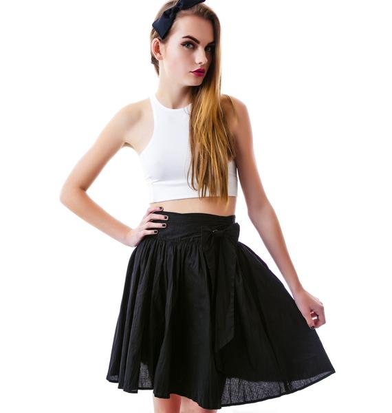 Sourpuss Clothing Swing Life Away Skirt