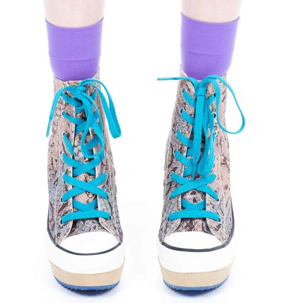 Lulu Jungle Platform Sneakers