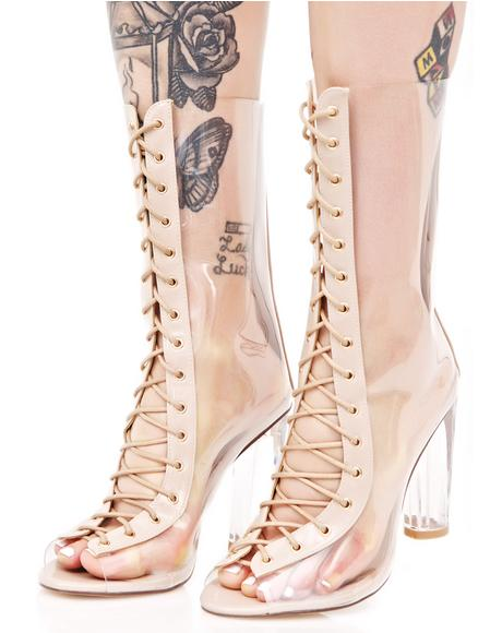Scorpio Lace-Up Boots